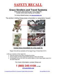 Graco Stroller Recall RETAILER POSTER_FINAL