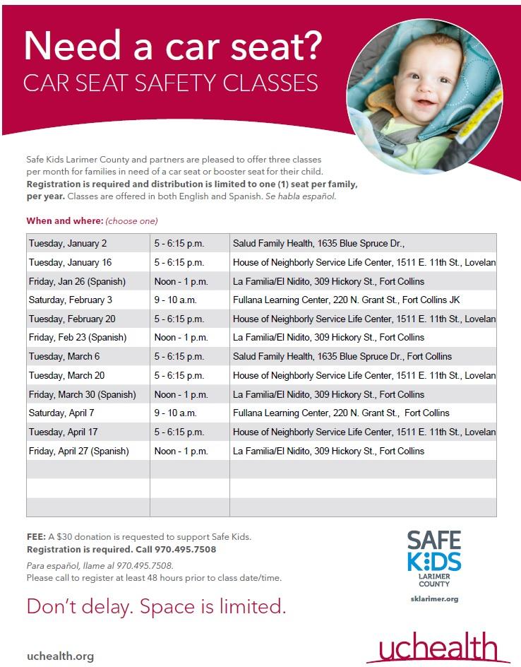 car seat class
