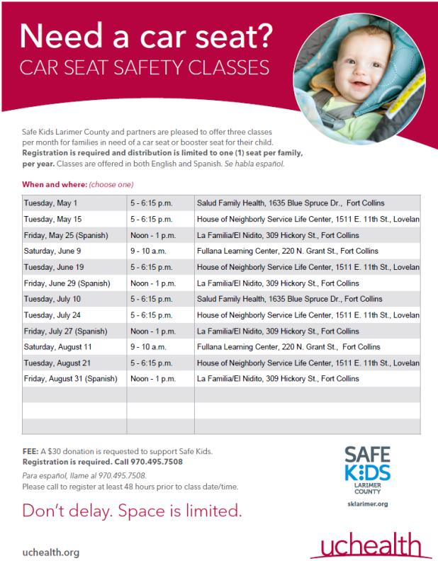 Forward Facing Car Seat Requirements Oregon